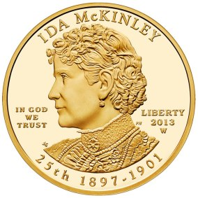 Company Images assorted images Commodities - Gold Collector's Coins First Lady Ida Mc Kinley 25th Edition 1897-1901 In God We Trust