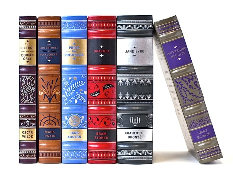 Company Images assorted sizes Literary Commodities Classic Novels Book Covers Design by Jessica Hische