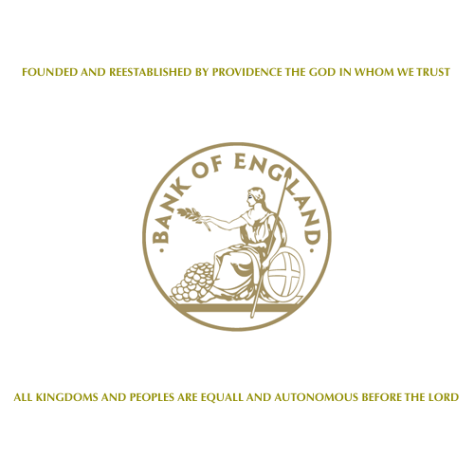 ™ Bank of England in service to God …in service to the citizens of England