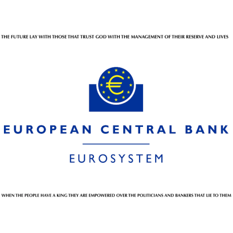 ™ European Central Bank …we trust the Lord our God …we trust the son of God