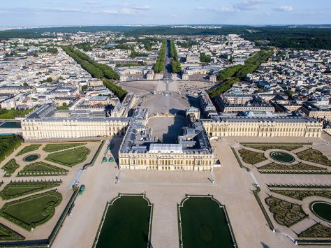 Crown Holdings France - The Palace of Versailles - a Royal Château in Versailles France - The French Royal Estate of Principe Jose Maria Chavira M.S. Adagio I  Image 1a