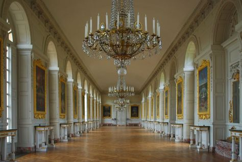 Crown Holdings France - The Palace of Versailles - a Royal Château in Versailles France - The French Royal Estate of Principe Jose Maria Chavira M.S. Adagio I  Image 1c Le Grand Trianon Interior