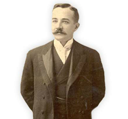 World Bank -™ Angelcraft Crown World Bank Reserve - Crown Holdings - Acquisitians and Partners - Hershey's Chocolates - Photograph of Milton S. Hershey founder of the Chocolate Company
