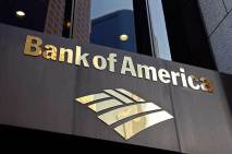 Angelcraft Crown World Bank Reserve Holding Bank of America - Bank of America Plaza in downtown Los Angeles