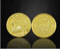 ™Angelcraft Crown World Bank and Reserve.corpvs -Gold - Saudi Arabian Royal Mint