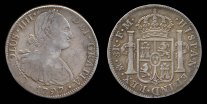 ™Angelcraft Crown World Bank and Reserve - Nueva España Carolus IIII Hispaña worth 8 reales 1797